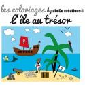 Coloriage L'île au trésor
