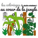 Coloriage Au coeur de la jungle