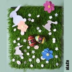 la décoration de table pour Pâques