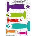 la décoration poissons d'avril