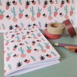 Motif à imprimer sur papier Cactus Mix