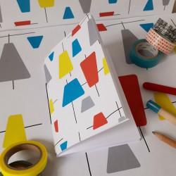 Motif à imprimer sur papier Fifties