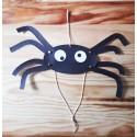 Araignée papertoy pour Halloween