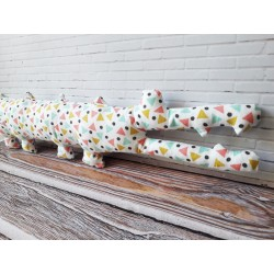 Mr Crocodile patron de doudou