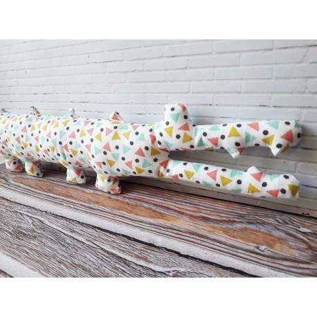 Mr Crocodile patron de doudou