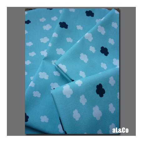 Petits nuages coupon de tissu