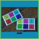 lot de 12 mini stickers fête anniversaire
