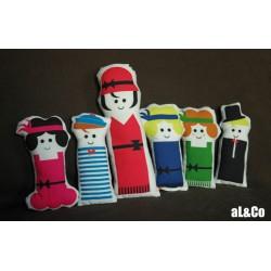 les mini poupées années folles