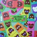 mini domino des ours