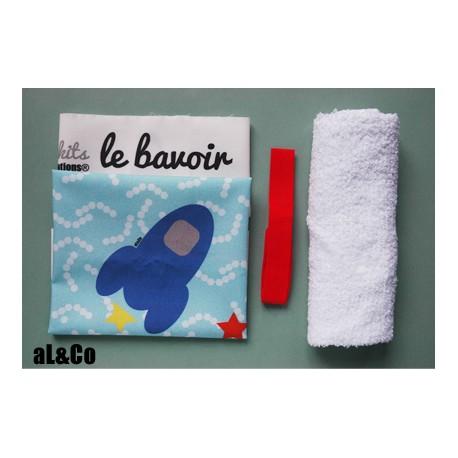 kit bavoir fusée