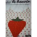 kit bavoir fraise