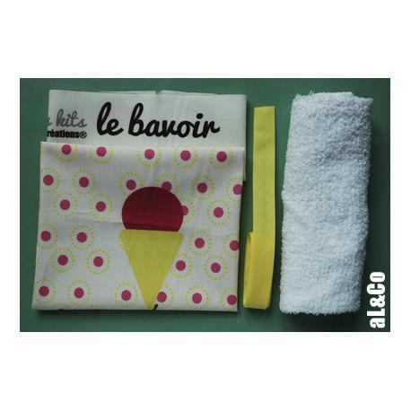 kit bavoir glace