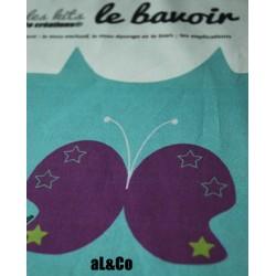 kit bavoir papillon