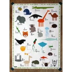 affiche abécédaire des animaux