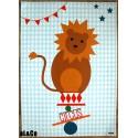 affiche le lion du cirque
