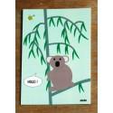 carte postale Hello le koala
