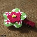 la barrette de fleurs - kit