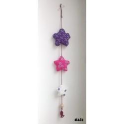 la guirlande de fleurs - kit à coudre